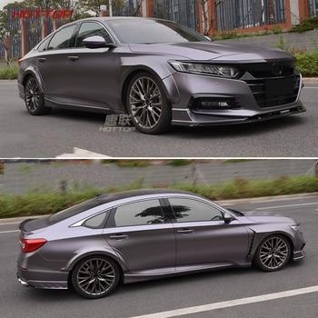 Car Fender Flares Arch Wheel Eyebrow Auto Wheel Lip Protector Trim Unpaint For Honda 2016-2018 Accord Ten generation