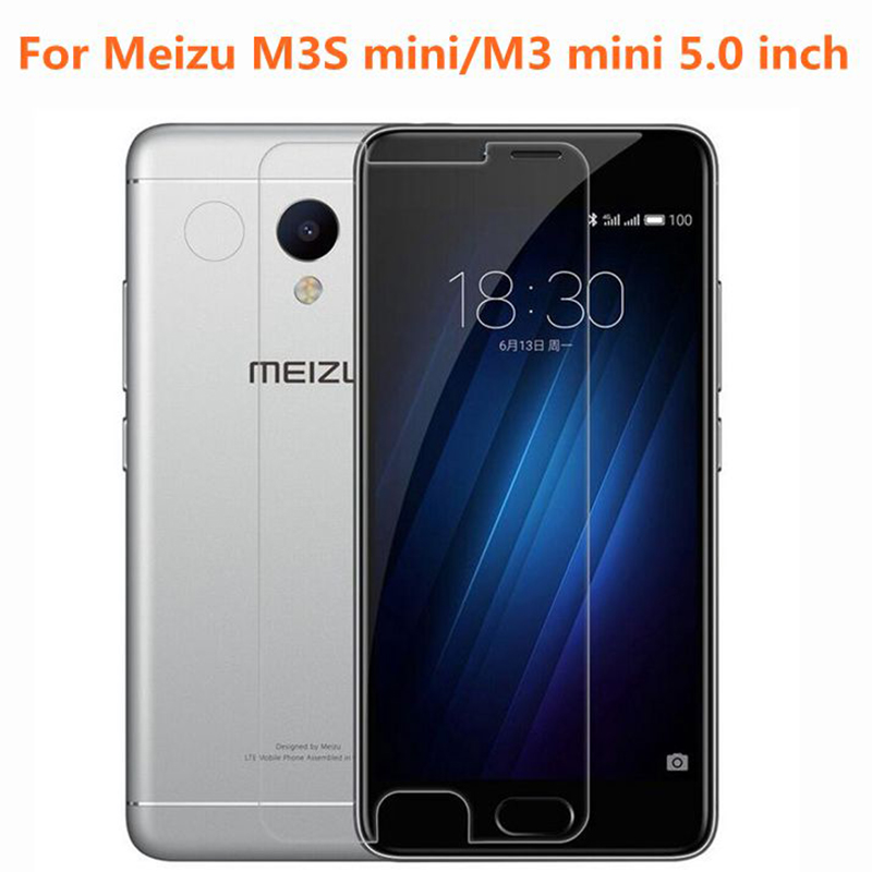 <font><b>Meizu</b></font> <font><b>M3S</b></font> <font><b>mini</b></font> Tempered <font><b>Glass</b></font> Original 9H High Quality Protective Film Explosion-proof Screen Protector for M3 <font><b>mini</b></font> 5.0 inch image