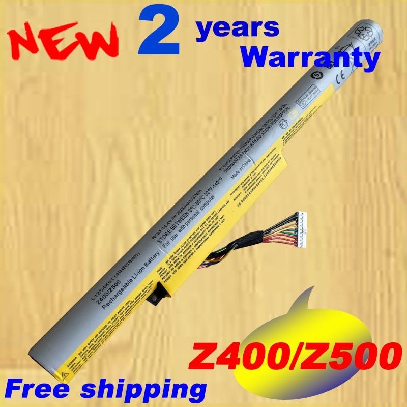 Free shipping laptop <font><b>Battery</b></font> For <font><b>LENOVO</b></font> for Ideapad Z400 Z400S Z400A Z400T <font><b>Z510</b></font> Z510A Z500 Z500A L12S4K01 L12L4K01
