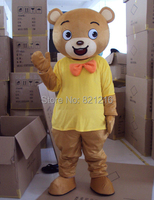 New Professional Brown Bear Mascot Costume Fancy Dress Adult Size