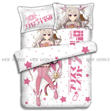 Newest Design Fate Kaleid Liner Pillow Cover Bedding Sets Queen Size Bed Sheet 4Pcs BedCover