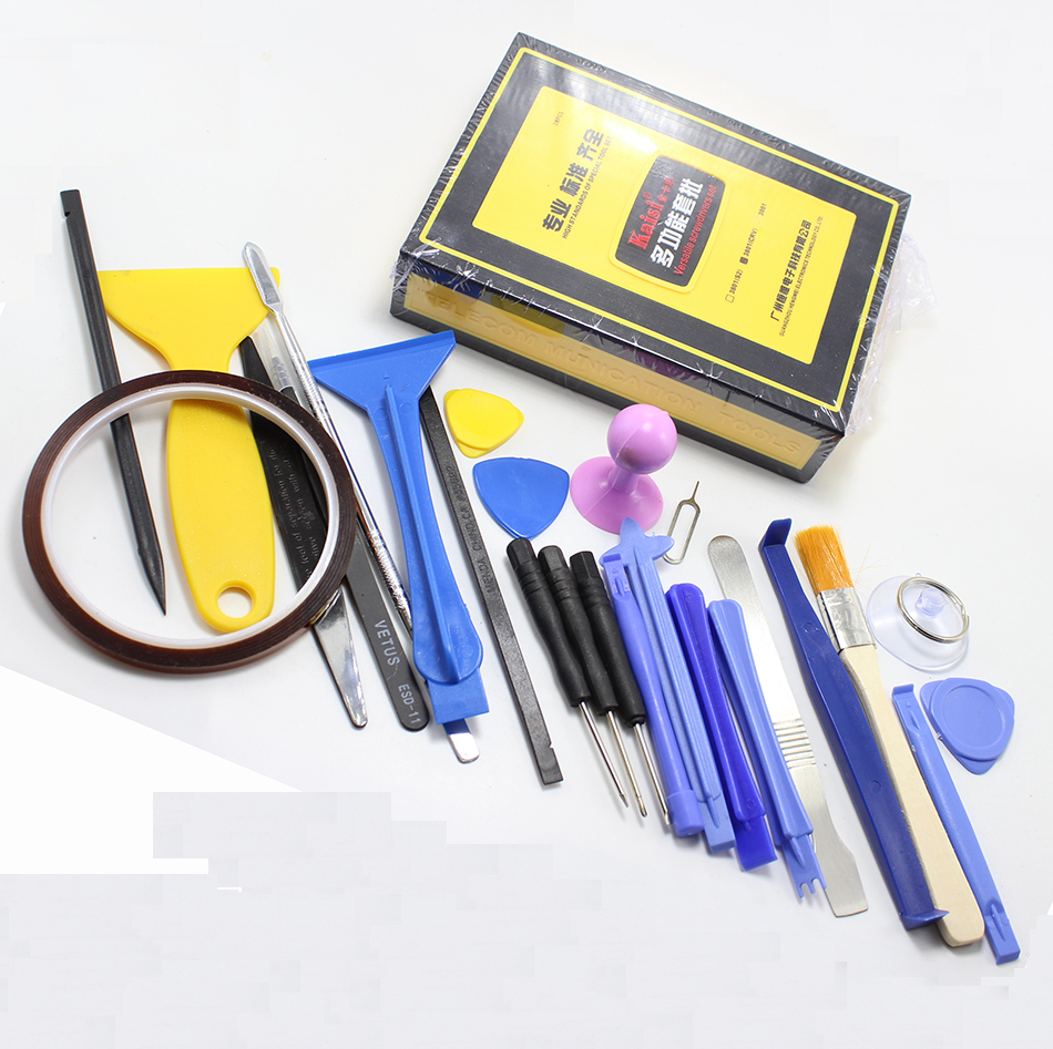 Kaisi 38 in 1 Precision Screwdrivers Kit Opening Repair Phone Tools Set for iPhone 4/4s/5 iPad Samsung канцелярские кнопки drawing pin creative office 136