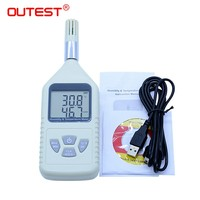 Digital thermometer GM1360A Handheld hygrometer thermometer with dew point pick up measuring ranges 30C 80C(14F 140F)