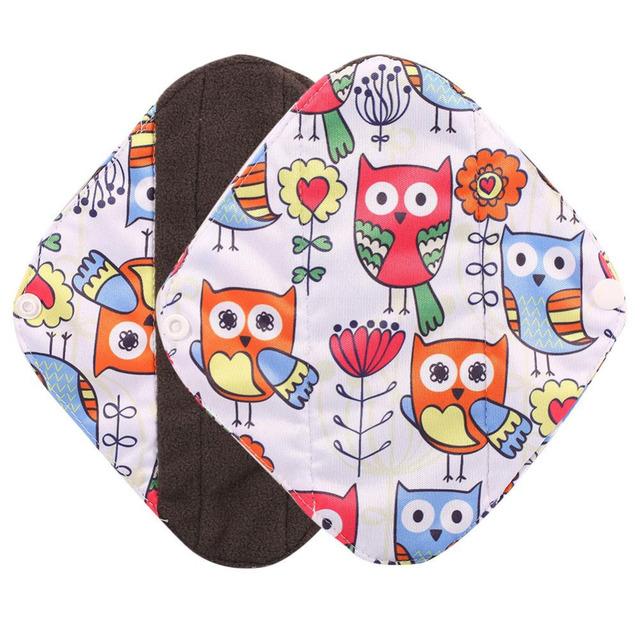 1PCs Women Maternal Menstrual Pads Reusable Bamboo Cloth Sanitary Menstrual Pads Washable Panty Liner Pad For Pregnancy Women