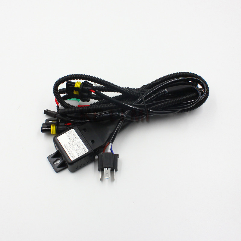 Automobile headlight retrofit work H4 9003 HB2 high low bi xenon bulb hid wiring harness controller hid conversion kit picture more detailed picture about hid 12v 35w wiring harness controller at reclaimingppi.co