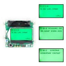 Condensador inductor medidor ESR, versión de 3,7 V, bricolaje, MG328, transistor multifunción con carcasa acrílica, nuevo