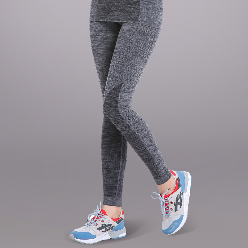 Running Pants Trousers Yoga Workout Clothes Sport Slim Fitness Sports Women Gym High Waist Clothing Leggings For Female WA24