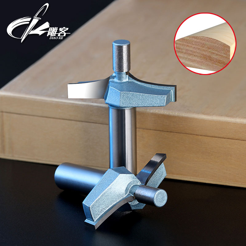 1PCS 12 7mm Woodworking Milling Cutters Round Cutters Arc Cutters Round Corner Carpenter Knife