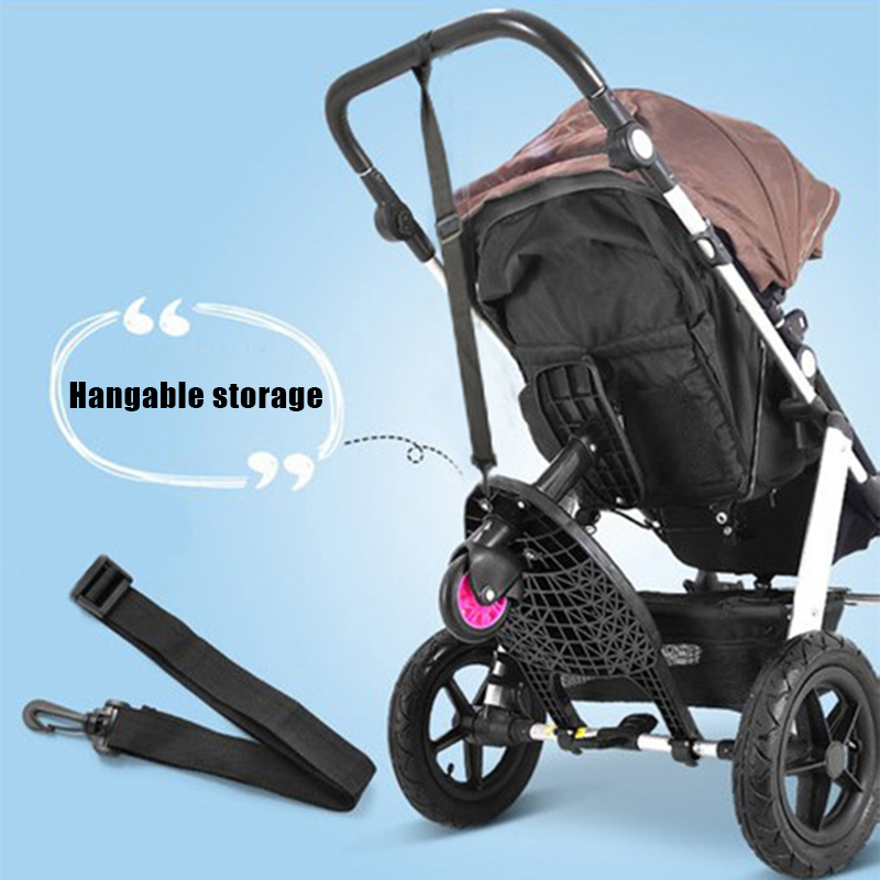 Trailing Small Tail Car Double Big Child Baby Stroller Second-child Artifact Auxiliary Pedal Slippery Travel YA88