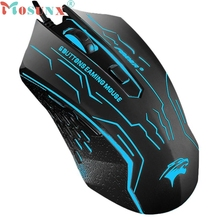 Ecosin2 Mosunx 3200 DPI LED Light Optical 6D USB Wired Gaming Game Mouse For PC Laptop Game 17mar24