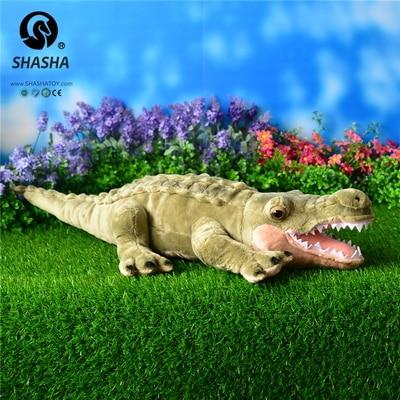 high quality goods  cute crocodile 70 cm  plush toy  simulation crocodile doll gift d902 mcd200 16io1 [west] quality goods