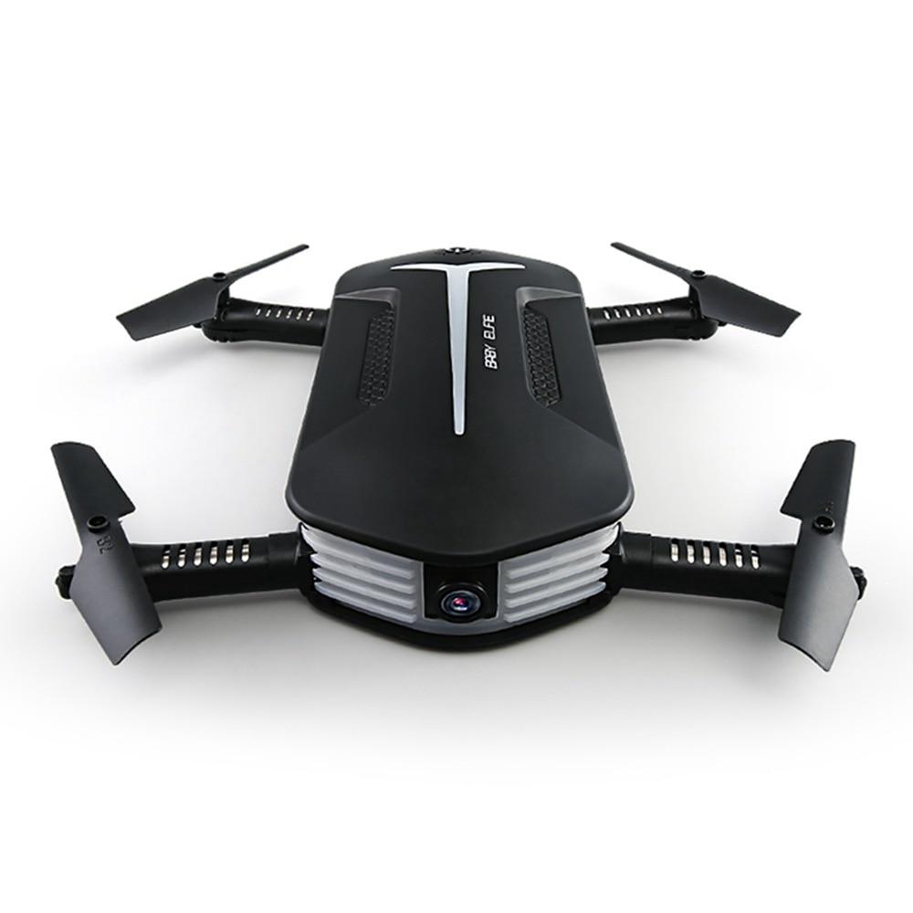 Drone pliable JJRC H37 Selfie voyage RC Mini quadrirotor avec Wifi FPV 720P HD caméra avion de poche