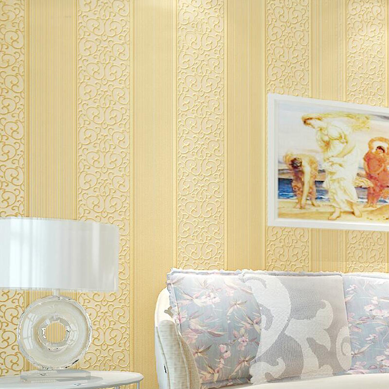 Arte moderno decoraci n 3d en relieve de papel para las - Papel pared rayas verticales ...
