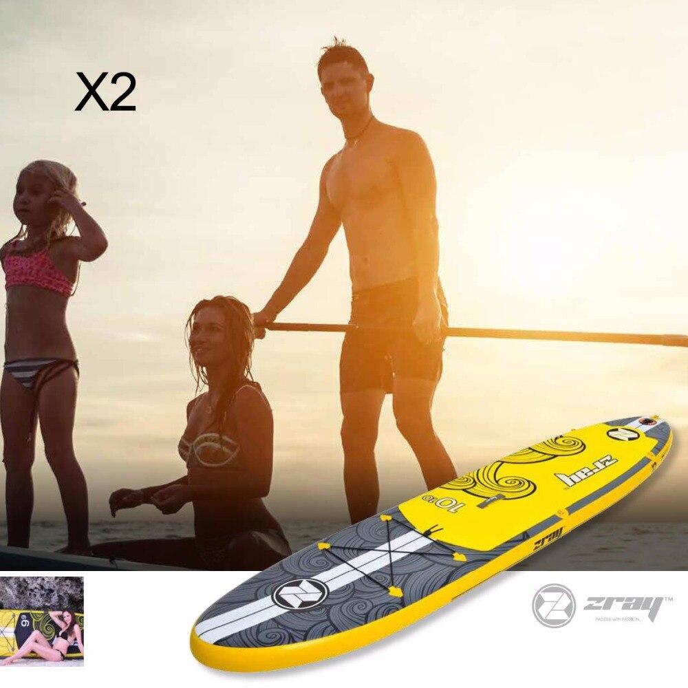 Серфинга 330*76*15 см Цзилун Z RAY X2 надувные САП доска веслом доска для серфинга каяк Спорт надувная лодка bodyboard
