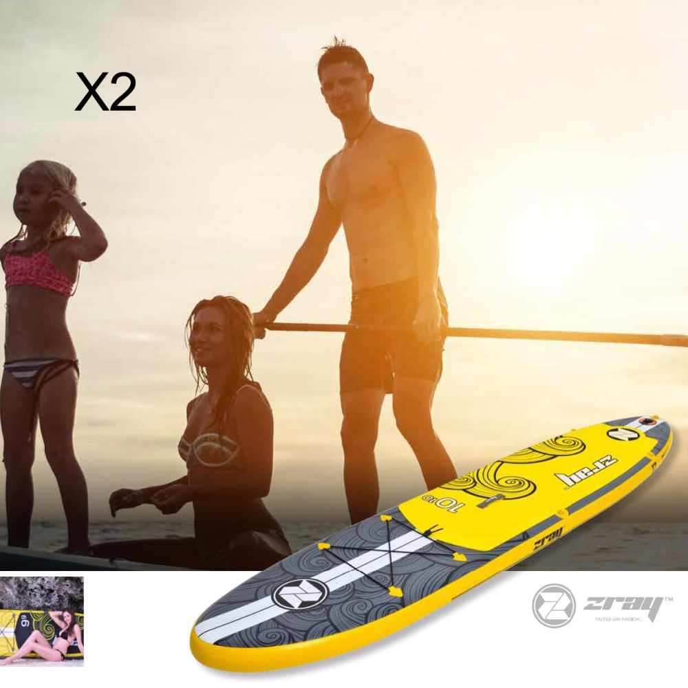 Planche de surf 330*76*15 cm JILONG Z RAY X2 gonflable conseil sup stand up paddle board surf kayak sport gonflable bateau bodyboard