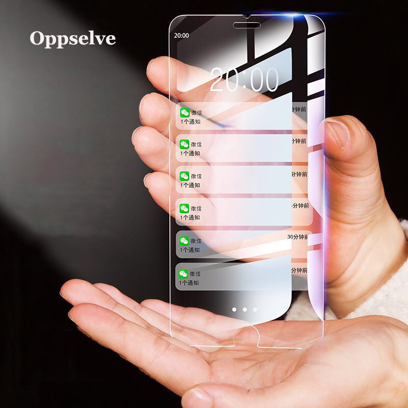 2PCS Screen Protector Tempered Glass For IPhone X Xs Max Xr 11 Pro 8 7 6 S Plus Ultra Thin Slim Transparent Toughened Glass Film