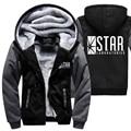 Fashion superman series hoodies 2017 long sleeve sweatshirt STAR labs the flash streetwear jacket casual fleece winter tracksuit