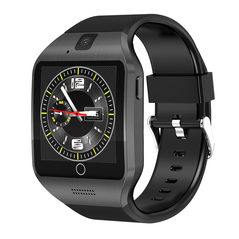 V88 android 4 4 Smart watch Q18 Plus Mtk6572 SmartWatch For android Phone  support 3G wifi GPS SIM GSM WCDMA 500W Camera Video