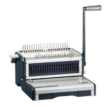 A4 Paper Binding Machine Puncher Binder 21 Holes manual Binding Machine 25 Sheets Punching 500 Sheets Binding Office Home Tools