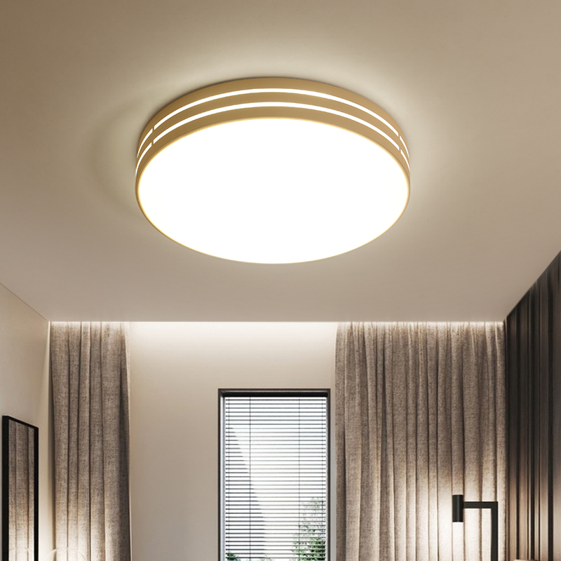 LED Ceiling lights bedroom Round lighting modern Simple luminaires children s room fixtures Nordic living room