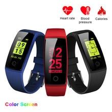 Volemer font b Smart b font Bracelet V10 Pedometer Task Reminder Fashion Wristband Watch with Automatic