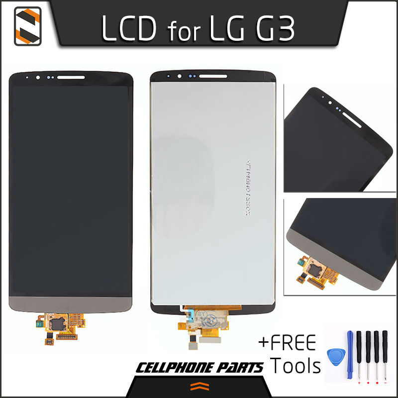 ФОТО LCD Display for LG Optimus G3 D850 D851 D855 VS985 LS990 LCD Display Touch Screen Digitizer Complete Assembly Replacement+Tools
