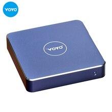 Новый VOYO vmac Mini PC V1 Intel Celeron N3450 Оперативная память 4 г + 120 г SSD Окна 10.1 WiFi USB 3.0 HDMI дома и офиса таблетки двойного назначения