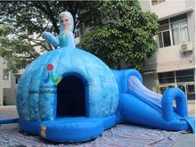 6*5M New Design Factory Price Dome Inflatable Bouncer Castle for Sale with Slide