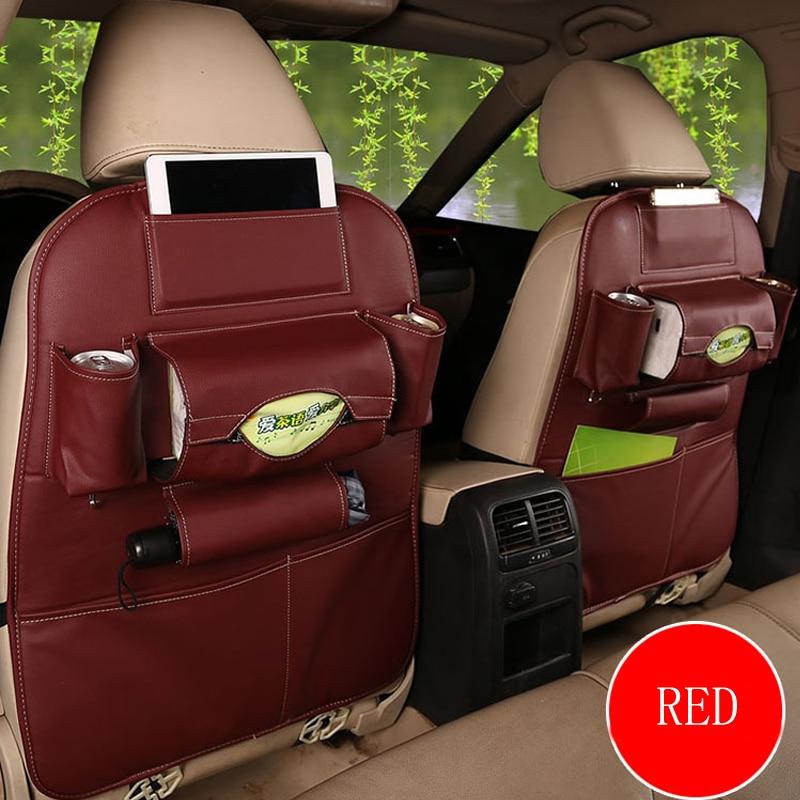 2019 New Car seat storage bag Hanging bags car seat back ...