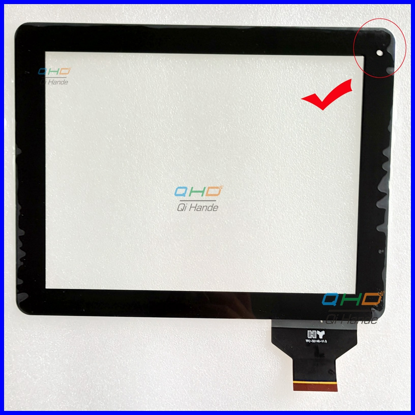 For 9.7'' inch v99 touch Screen touch panel Digitizer TPC-50146-V1.0 ,Free Shipping new tpc 120h ecme touch screen