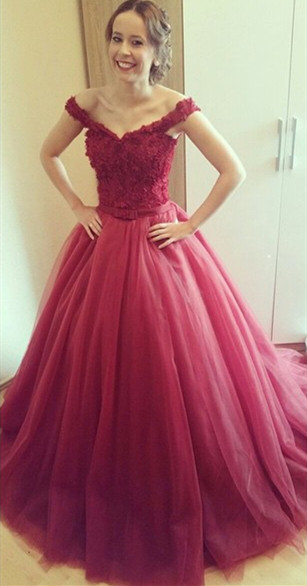 High Quality Red Princess Prom Dresses-Buy Cheap Red Princess Prom ...