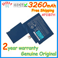 Первоначально новая батарея AP11B7H для acer Iconia W500 W500P W501 AP11B3F 3ICP 5 / 67 / 89 BT.00307.034 BT.00303.024 аккумуляторы акку