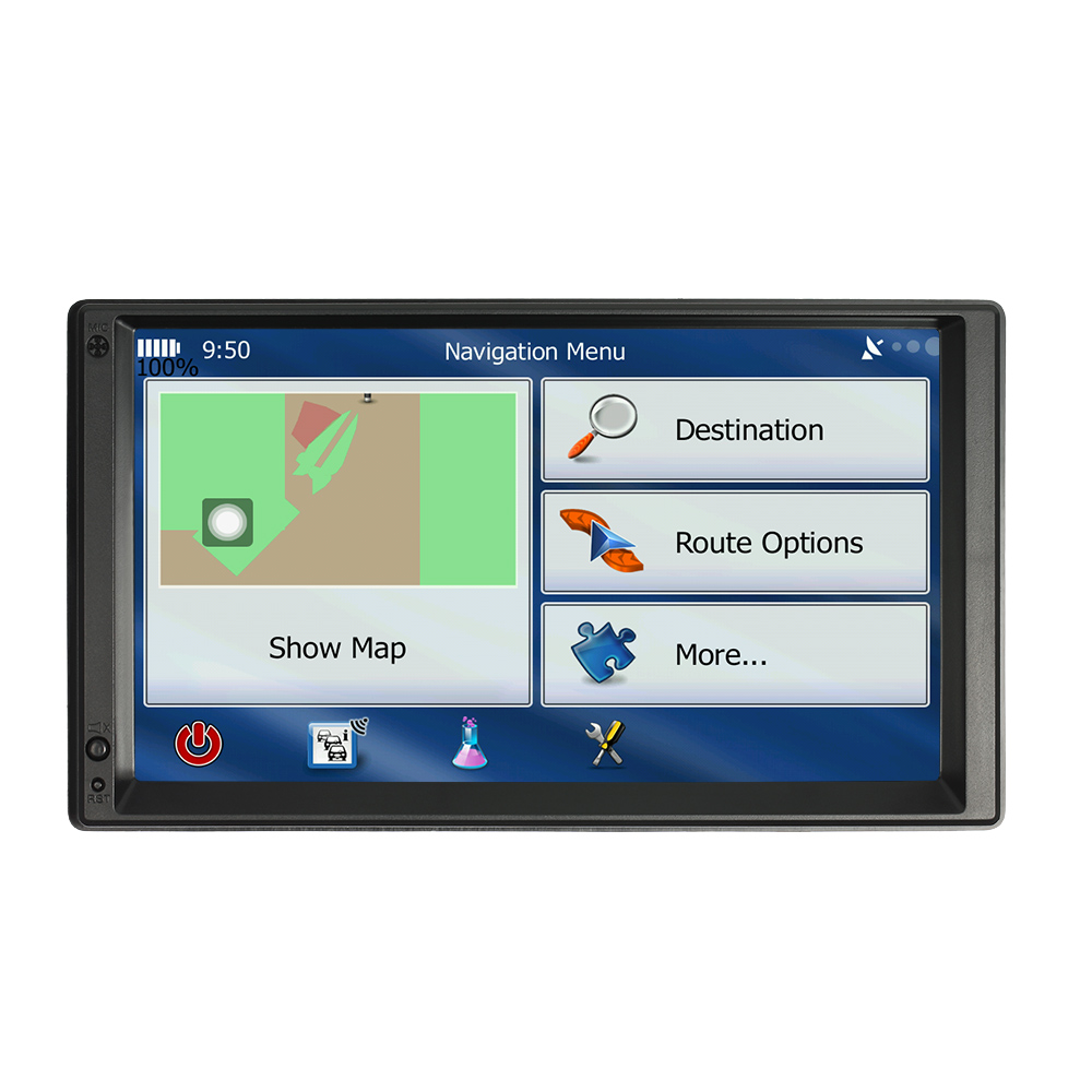 2 DIN Android Car Radio GPS WIFI 5.1 Muts
