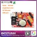 Huidu привело плату контроллера HD-A40 HD-U61 32*1024 пикселей одной/двойной цвет LED платы управления p10 светодиодный модуль открытый светодиодная вывеска