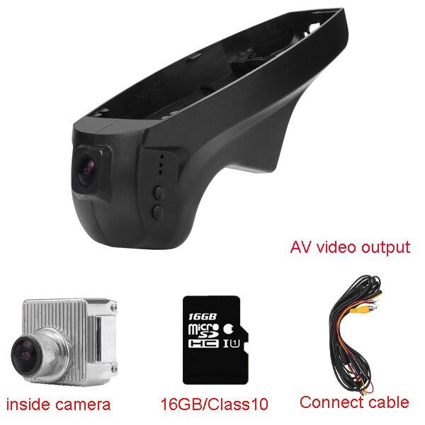 Car Dash Cam for BMW Car low spec serial 3(E90/E91)/1 Serial(E87)/X1(E84) with WIFI 1080P 170degree