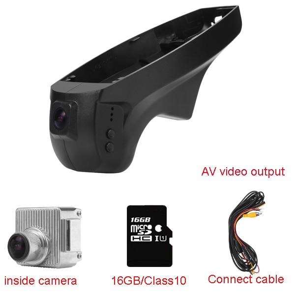 Car Dash Cam for BMW serial 3(E90/E91)/1 Serial(E87)/X1(E84) with WIFI 1080P 170degree 16G/32G SD Card hidden install wifi car dvr for bmw car low spec e90 e91 e87 e84 hd 1080p 170 wide angle support g sensor motion detection