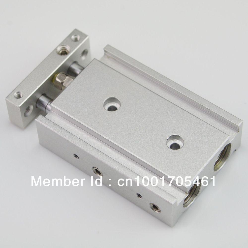 лучшая цена SMC Type CXSM 15-125 Compact Type Dual Rod Cylinder Double Acting 15-125mm Accept custom