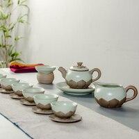 2017 gốm sứ Trung Quốc trà Thủ Công cup đơn layer Ru kiln kung fu tách dịch vụ cổ điển nhỏ ly uống trà bán buôn B011