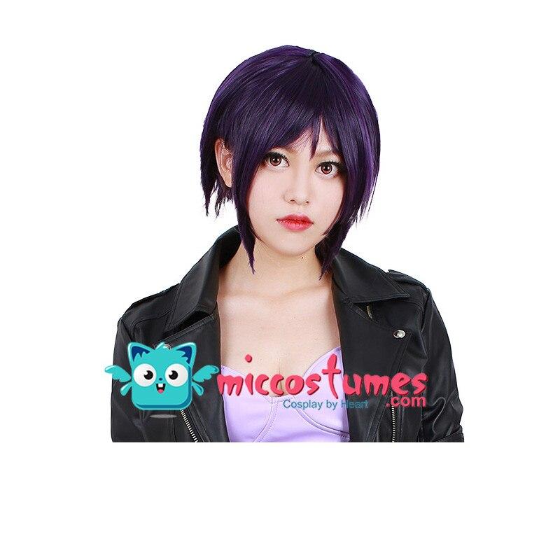 Women Short Major Motoko Kusanagi Cosplay Wig