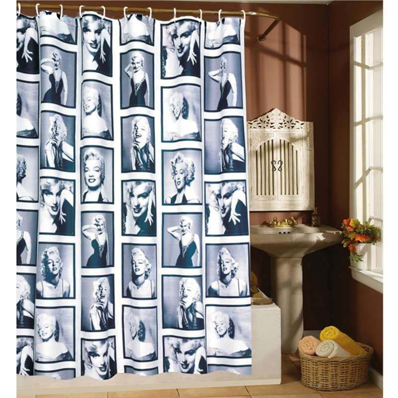 Personality WaterProof Marilyn Monroe Pattern Bathroom Shower Curtain Home  Decor High Quality Bathroom Products China. Online Buy Wholesale marilyn monroe bathroom decor from China