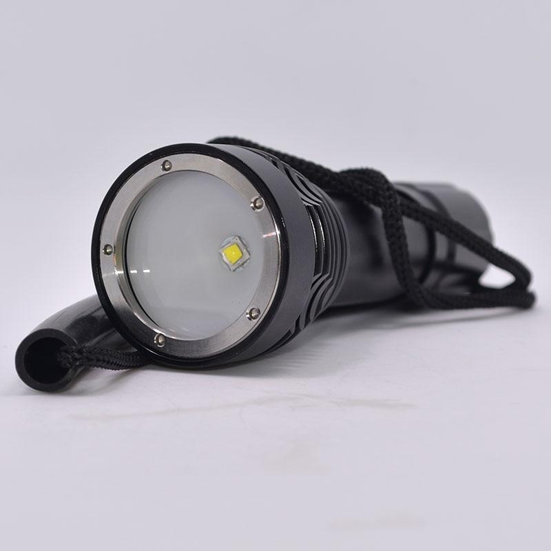 New Underwater 100m Diving Tactical Flashlight 1000 Lumen Lantern LED Flashlight Torch Scuba Diving Light