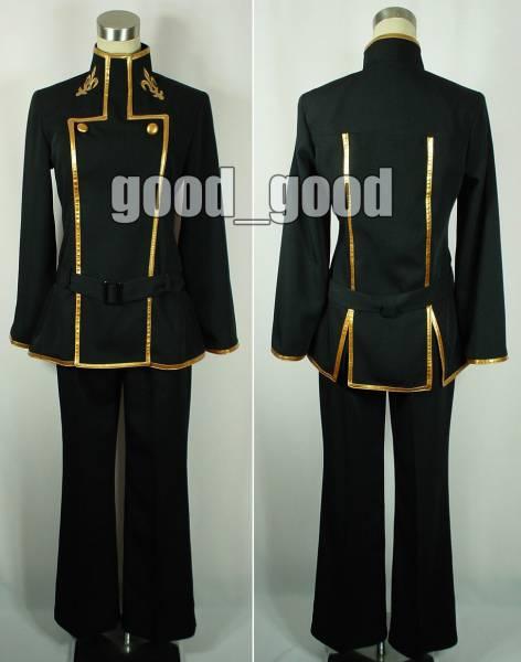 Courrier gratuit kisscos rebelle chaîne CODE GEASS cos la garniture ford académie garçons uniforme cosplay costume