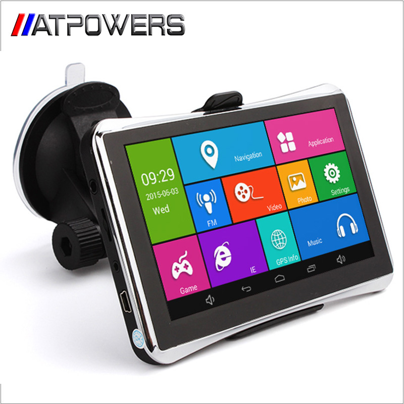 New 5 Inch Car GPS Navigation Android 4.4 MTK 8127 WIFI/FM