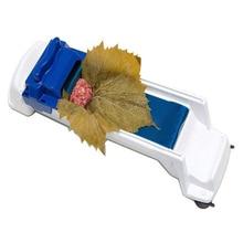 Кухня быстрый суши ролик машина растительное мясо прокатки инструмент волшебный ролик чучела гарпе капусты листья винограда прокатки машина
