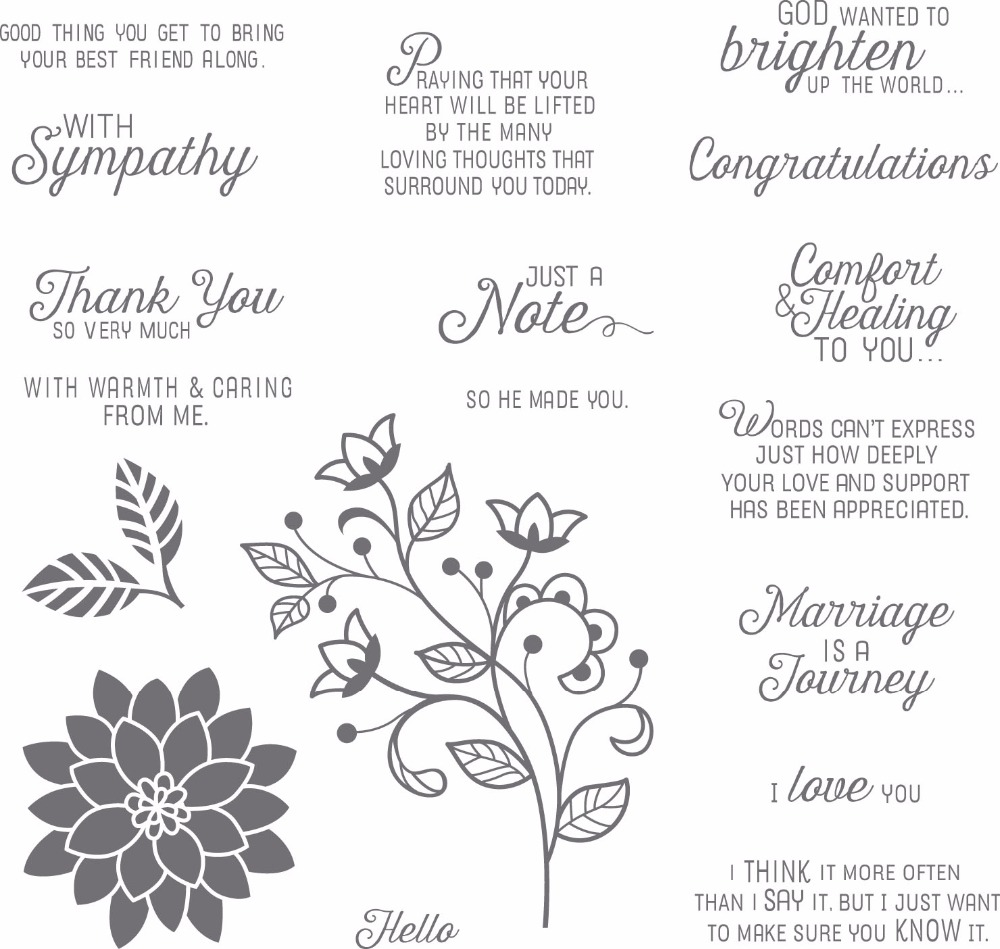 Flowers with Love English words Clear stamp Scrapbook DIY photo cards account rubber stamp clear stamp YZ1019 scrapbook diy photo cards account rubber stamp clear stamp transparent stamp handmade card stamp classical flower background