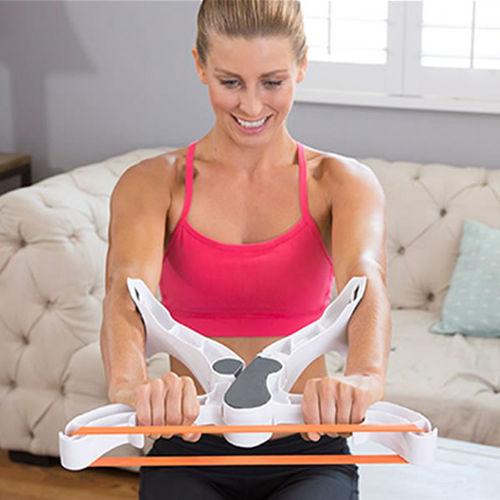 Beleza de Emagrecimento Abs Músculo Abdominal Trainer Rolo