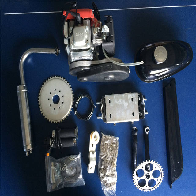 US $368 99 |4 Stroke 49CC GAS PETROL MOTORIZED BICYCLE BIKE ENGINE MOTOR  KIT Scooter-in Carburetor from Automobiles & Motorcycles on Aliexpress com  |