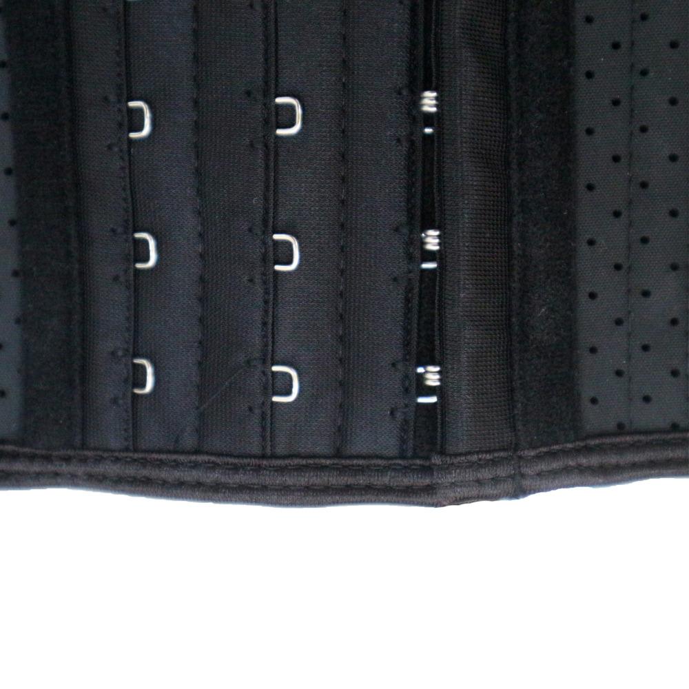 afc117c4bd Perforated Latex 25 Steel Boned Underbust Waist Trainer Corset ...
