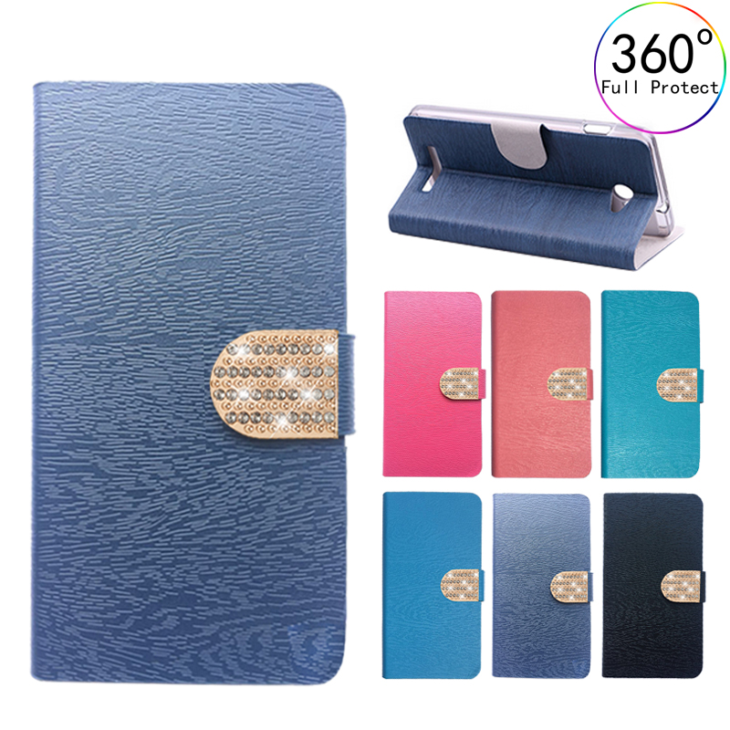 PU Leather Jewelled Style Case For Lenovo S60-T Cover Phone Bag Coque For Lenovo S60 S60-T S60W S60A Flip Case Phone Fundas