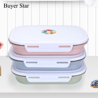 18 8 Stainless Steel Japanese Lunch Box With Compartments Microwave School Bento Box For Kids Picnic
